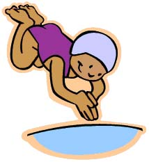 Sv mming for Apprendre a plonger dans la piscine