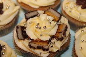 Nyttårscupcakes