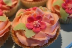 Fylte cupcakes