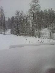 Snø i Bergeberget